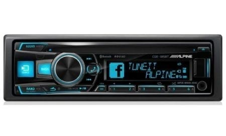 Ράδιο/CD/USB/BLUETOOTH Alpine CDE-195BT