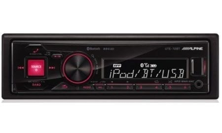 Ράδιο/CD/USB/BLUETOOTH Alpine UTE-72BT