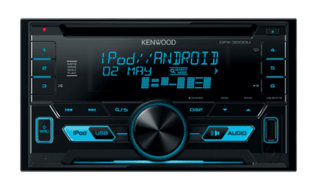 Ράδιο/CD/USB/BLUETOOTH Kenwood DPX-3000U.