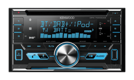 Ράδιο/CD/USB/BLUETOOTH Kenwood DPX-7000DAB.