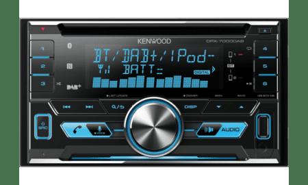 Ράδιο/CD/USB/BLUETOOTH Kenwood DPX-7000DAB.