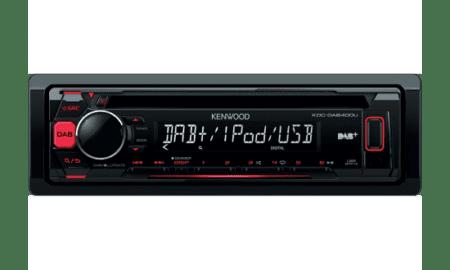 Ράδιο/CD/USB/BLUETOOTH Kenwood KDC-DAB400U.