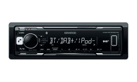 Ράδιο/USB/BLUETOOTH Kenwood KMM-BT502DAB.