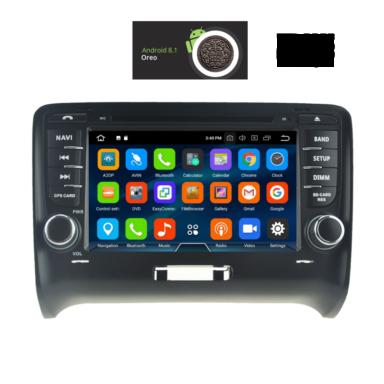 OΘΟΝΗ Multimedia OEM AN8078_GPS AUDI TT mod. 2007-2015