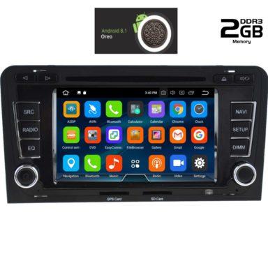 OΘΟΝΗ Multimedia OEM AN8049 GPS AUDI  A3  mod.2003-2012