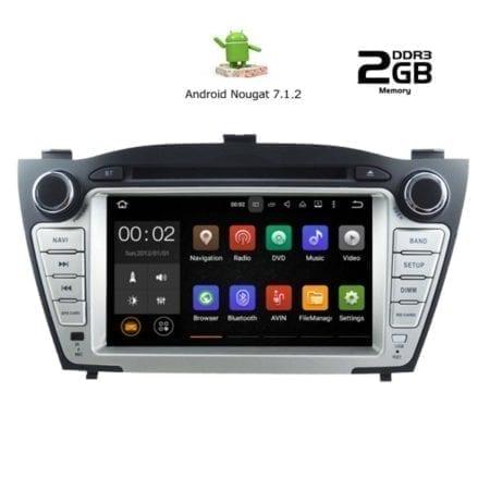OΘΟΝΗ Multimedia OEM AN7249_GPS HUYNDAI IX35 mod. 2010-2015