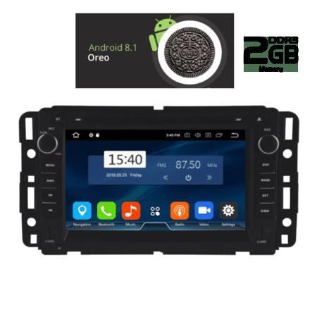 OΘΟΝΗ Multimedia OEM AN8021_GPS GMC YUKON mod. 2007-2015