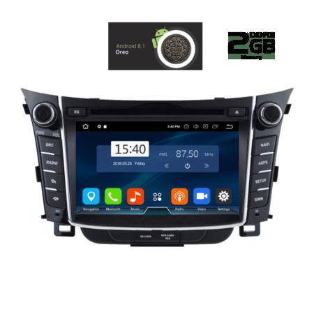 OΘΟΝΗ Multimedia OEM AN8156_GPS HUYNDAI I30 mod. 2012>