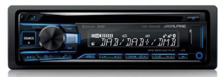 Ράδιο/CD/USB Alpine CDE-205DAB