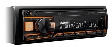 Ράδιο/CD/USB/Alpine UTE 202DAB
