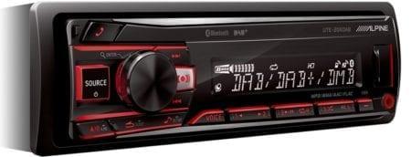 Ράδιο/CD/USB/Alpine UTE 204DAB