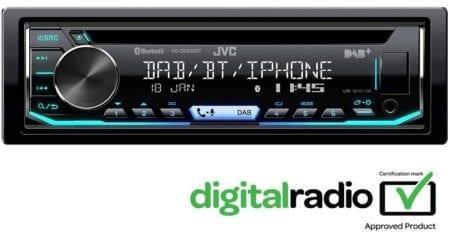 Ράδιο CD MP3 BLUETOOTH  JVC KD-D890BT