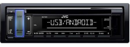 Ράδιο CD MP3 JVC KD-T401