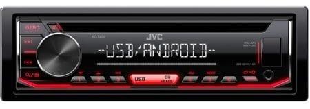 Ράδιο CD MP3 JVC KD-T402