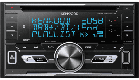 Ράδιο/CD/USB/BLUETOOTH Kenwood DPX-7100BT.