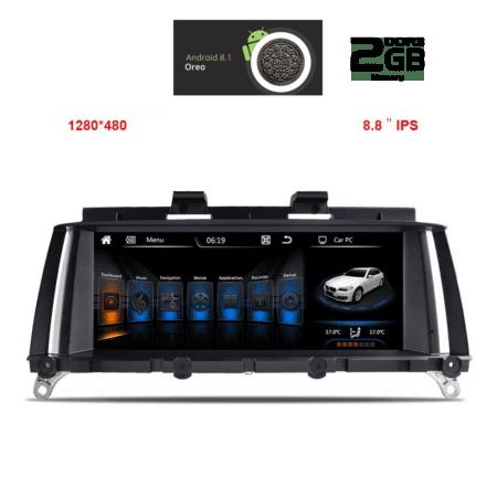 OΘΟΝΗ Multimedia OEM AN8104_GPS (8.8inc)BMW / X3 2011-2013