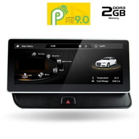 OΘΟΝΗ Multimedia OEM AN9210_GPS (10.25inc) AUDI Q5 mod. 2008-2018