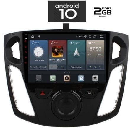 OΘΟΝΗ Multimedia OEM ANAN X1055_GPS (9inc) FORD FOCUS 2011-2015
