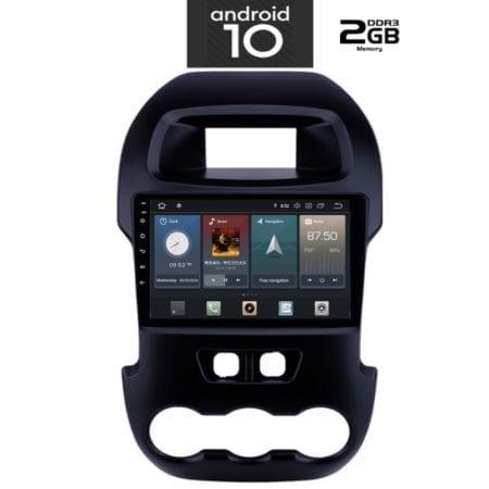 OΘΟΝΗ Multimedia OEM AN X1061_GPS (9inc) FORD RANGER 2011-2015