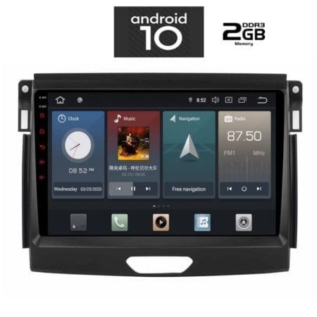OΘΟΝΗ Multimedia OEM AN X1062_GPS (9inc) FORD RANGER 2015-2018