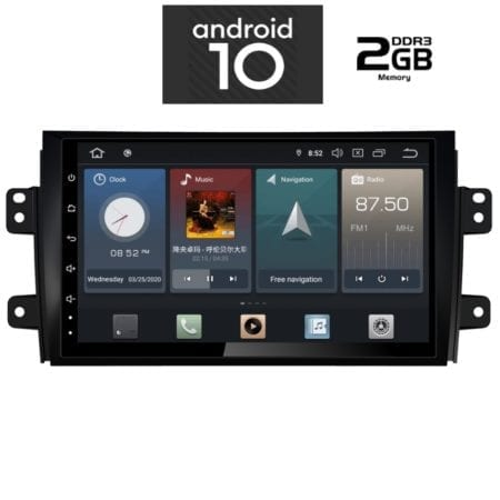 OΘΟΝΗ Multimedia OEM AN X1238_GPS (9inc) FIAT SEDICI 2005>