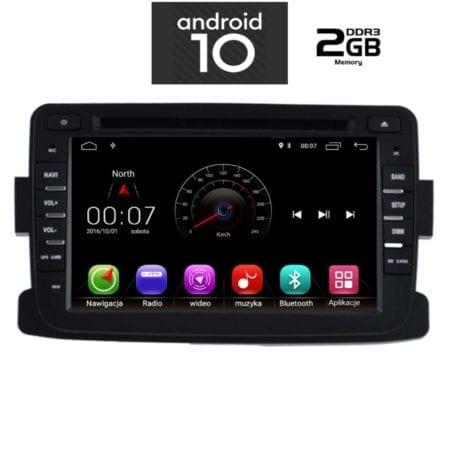 OΘΟΝΗ Multimedia OEM  AN X234M_GPS DACIA mod.2012-2019