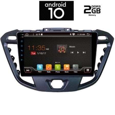 OΘΟΝΗ Multimedia OEM AN X6367_GPS (9inc) FORD TRANSIT TOURNEO