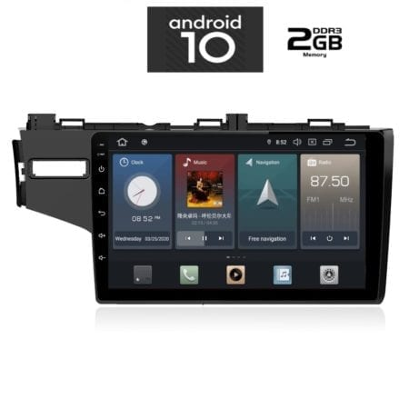 OΘΟΝΗ Multimedia OEM AN X1072_GPS10inc HONDA JAZZ mod.2013>