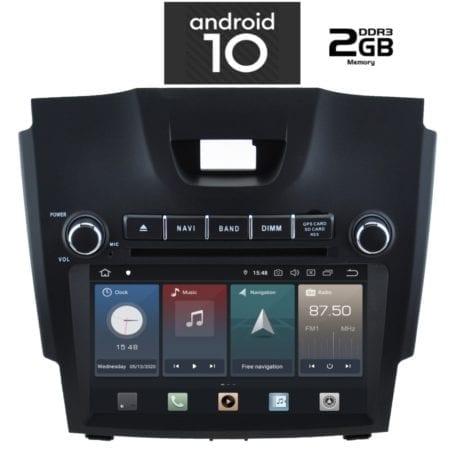 OΘΟΝΗ Multimedia OEM AN X580_GPS ISUZU DMAX mod. 2012>