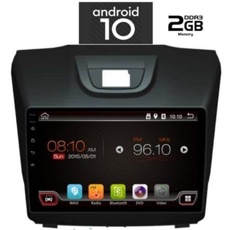 OΘΟΝΗ Multimedia OEM  AN X6402_GPS (9inc)ISUZU DMAX mod. 2012>