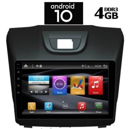 OΘΟΝΗ Multimedia OEM  AN X1402_GPS 9 INC ISUZU DMAX mod. 2012>