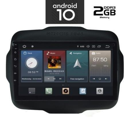 OΘΟΝΗ Multimedia OEM AN X1106 GPS 9 INC JEEP RENEGADE  mod. 2014>
