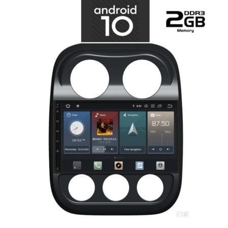OΘΟΝΗ Multimedia OEM AN X1108 GPS 10 INC JEEP COMPASS 2009-2016