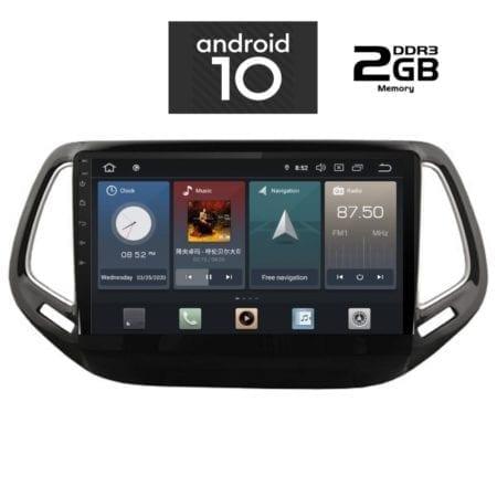 OΘΟΝΗ Multimedia OEM AN X1109 GPS 10 INC JEEP COMPASS 2017>