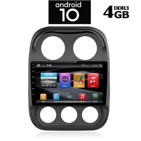 OΘΟΝΗ Multimedia OEM AN X1408 GPS 10 INC JEEP COMPASS 2009-2016