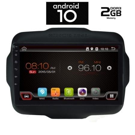 OΘΟΝΗ Multimedia OEM AN X6406 GPS 9 INC JEEP RENEGADE  mod. 2014>