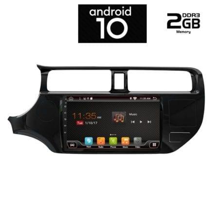 OΘΟΝΗ Multimedia OEM AN X6424 GPS 9 INC KIA RIO 2012-2015