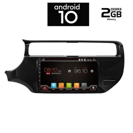 OΘΟΝΗ Multimedia OEM AN X6425 GPS 9 INC KIA RIO 2012-2015