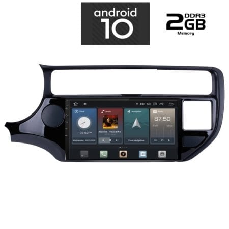 OΘΟΝΗ Multimedia OEM AN X1125 GPS 9 INC KIA RIO MOD.2015 2017