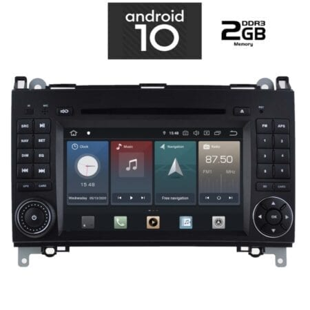 OΘΟΝΗ Multimedia OEM AN X468 GPS MERCEDES SPRINTER VITO VIANO